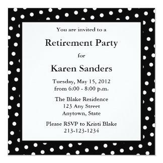 Black Square Formal Party or Event Invitation