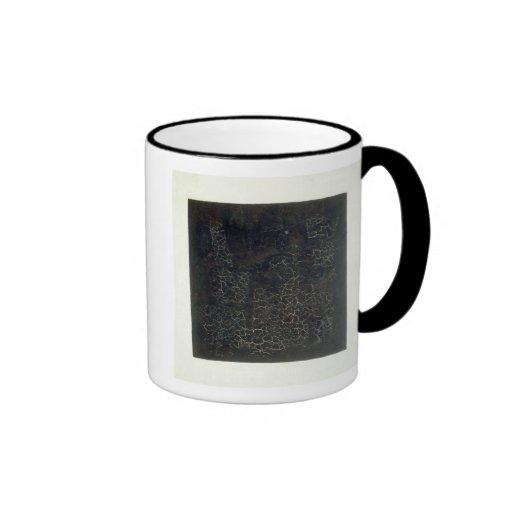 Black Square Coffee Mug