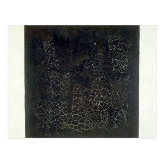 Black Square Postcard