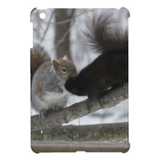 Black Squirrel iPad Mini Case