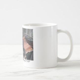 BLACK SQUIRREL ON A STUMP COFFEE MUGS