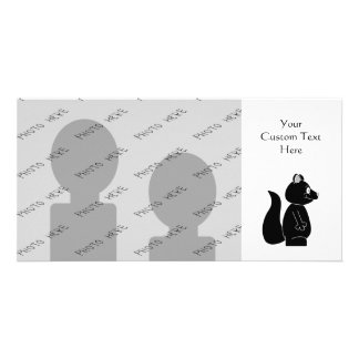 Black Squirrel Photo Card