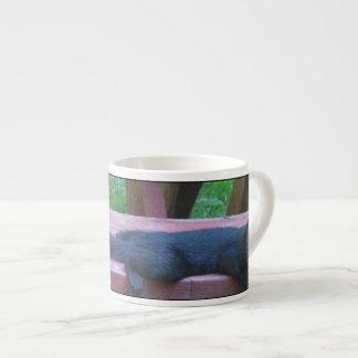 Black Squirrel Espresso Cup