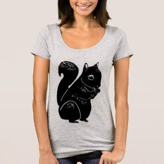 Black Squirrel Women's Scoop Neck T-Shirt