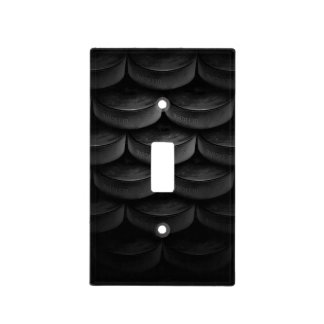 Black Stack Light Switch Cover