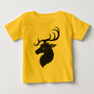 Black Stag Baby T-Shirt