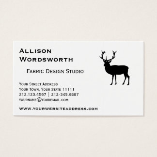 Black Stag - Bachelor or Stag Party Business Card