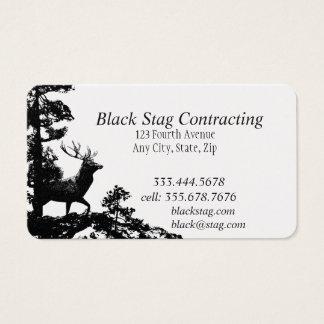 Black Stag Handyman Custom Business Cards