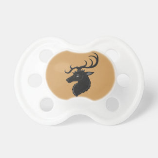 Black Stag Pacifier