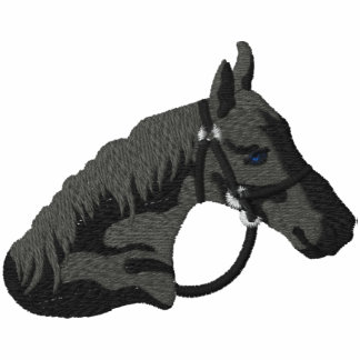 Black Stallion Embroidered Shirt