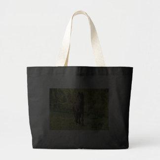 Black Stallion Jumbo Tote Bag
