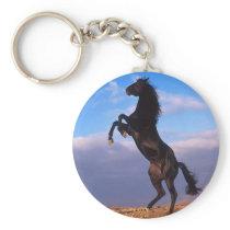 Black Stallion Keychain