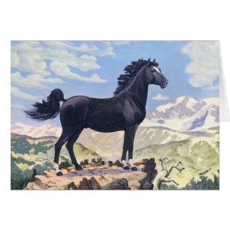 Black Stallion King Of The Rockies Card