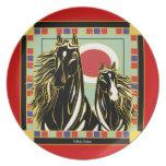 Black Stallion Majesty Dinner Plate
