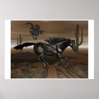 Black Stallion of Death Poster
