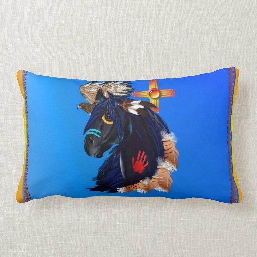 Black Stallion of Morning Pillow