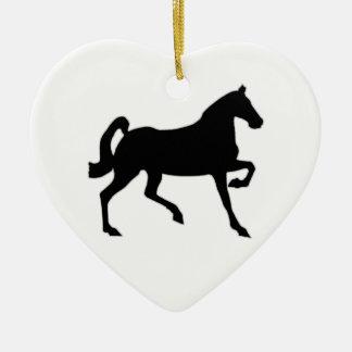 Black Stallion Ornament