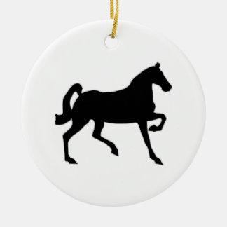 Black Stallion Ornaments