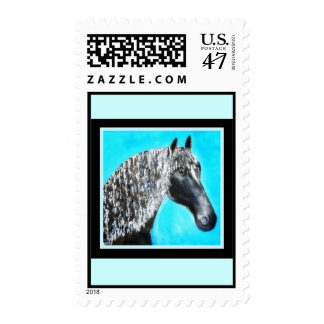 "Black Stallion ""Star"" Postage"