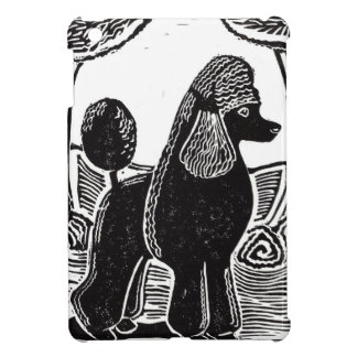 Black Standard Poodle iPad Mini Case