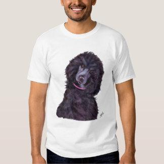 Black Standard Poodle T-shirt