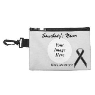Black Standard Ribbon Accessories Bag
