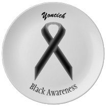 Black Standard Ribbon by Kenneth Yoncich Plate