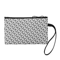 Black Standard Ribbon Change Purse