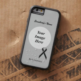 Black Standard Ribbon Tmpl by Kenneth Yoncich Tough Xtreme iPhone 6 Case