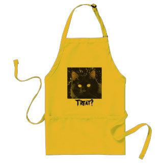 Black Star Cat Adult Apron