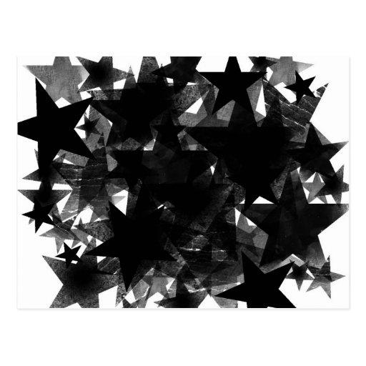 Black Star Frenzy Post Cards