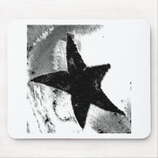 Black Star Mousepad