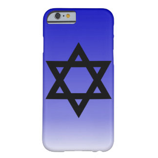 Black Star of David Barely There iPhone 6 Case