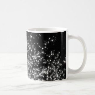 Black Stardust Art Coffee Mug