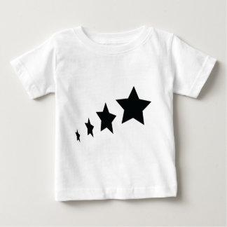 black stars icon baby T-Shirt