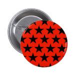 Black Stars Muster Button