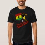 Black Stars of Ghana Shirts