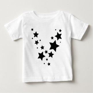 black stars rain icon baby T-Shirt
