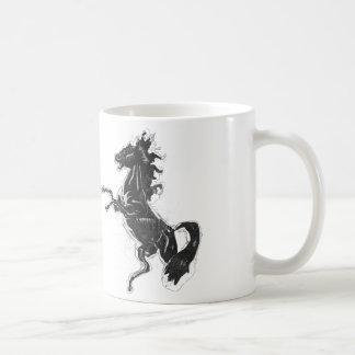 Black Steed Coffee Mug