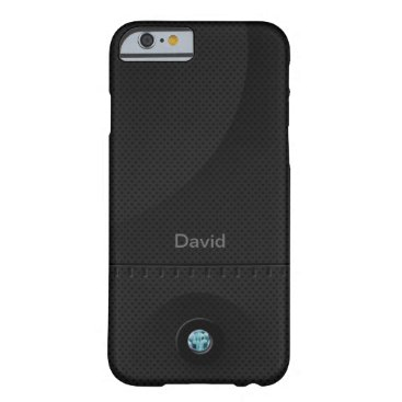 Black Steel Samurai Barely There iPhone 6 Case