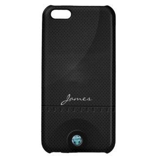 Black Steel Samurai iPhone 5 Case