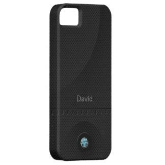Black Steel Samurai iPhone SE/5/5s Case
