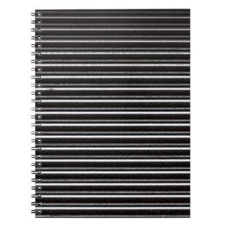 Black Steel Shutters Notebook