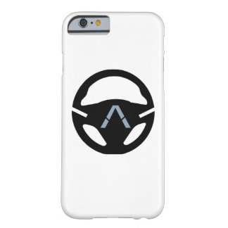 BLACK STEERING WHEEL BARELY THERE iPhone 6 CASE