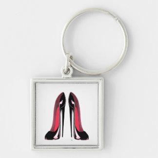 Black Stiletto Shoes Key Chains