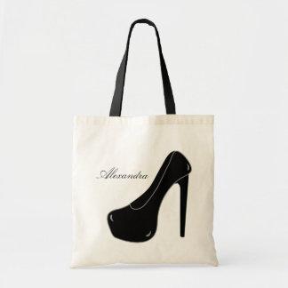 Black Stiletto Tote Bag