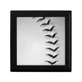 Black Stitches Baseball/Softball Jewelry Boxes