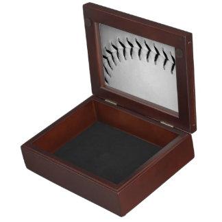 Black Stitches Baseball / Softball Keepsake Box