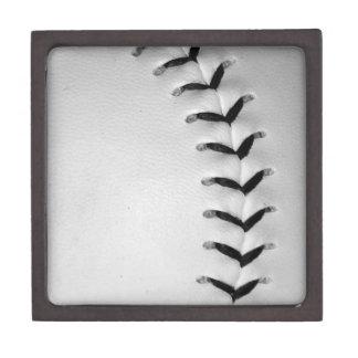 Black Stitches Baseball/Softball Premium Trinket Boxes