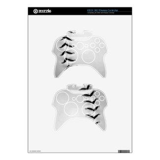 Black Stitches Baseball/Softball Xbox 360 Controller Skins